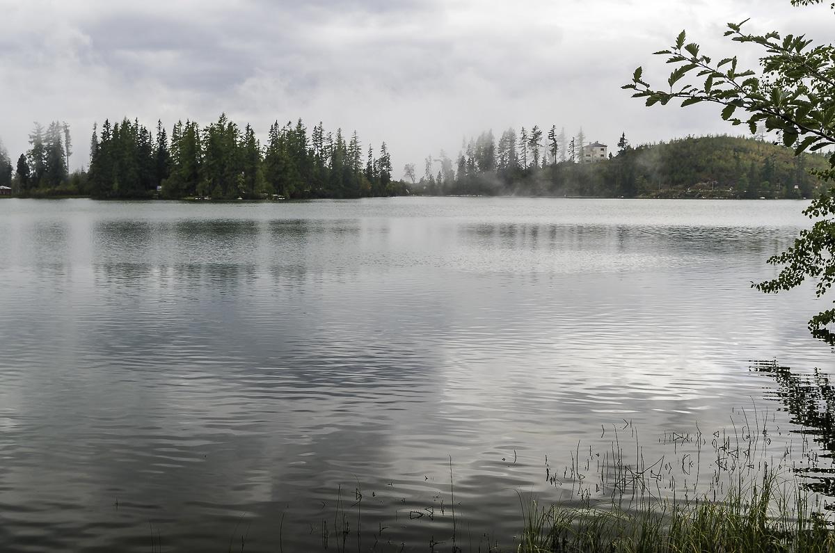 View of Strbske pleso