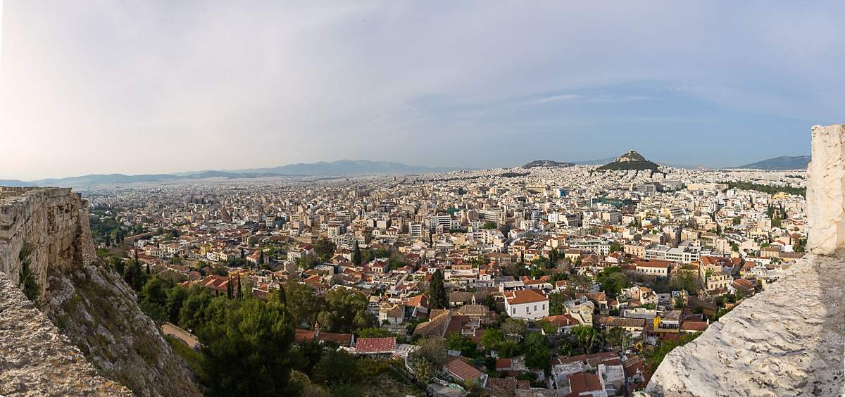 Athens Panorama from Acropolis