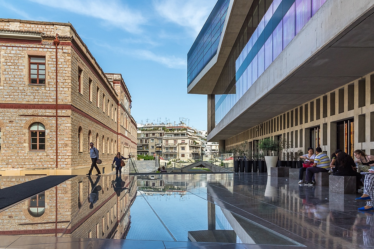 Acropolis Museum and Weiler building