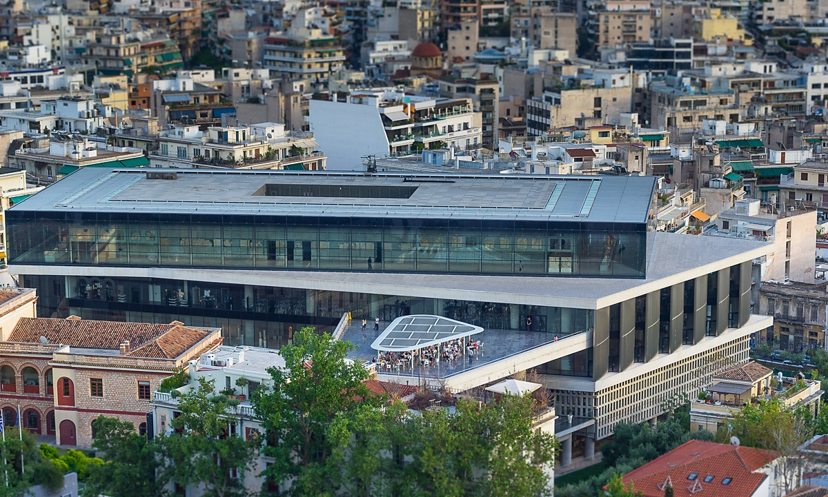 Acropolis Museum external view