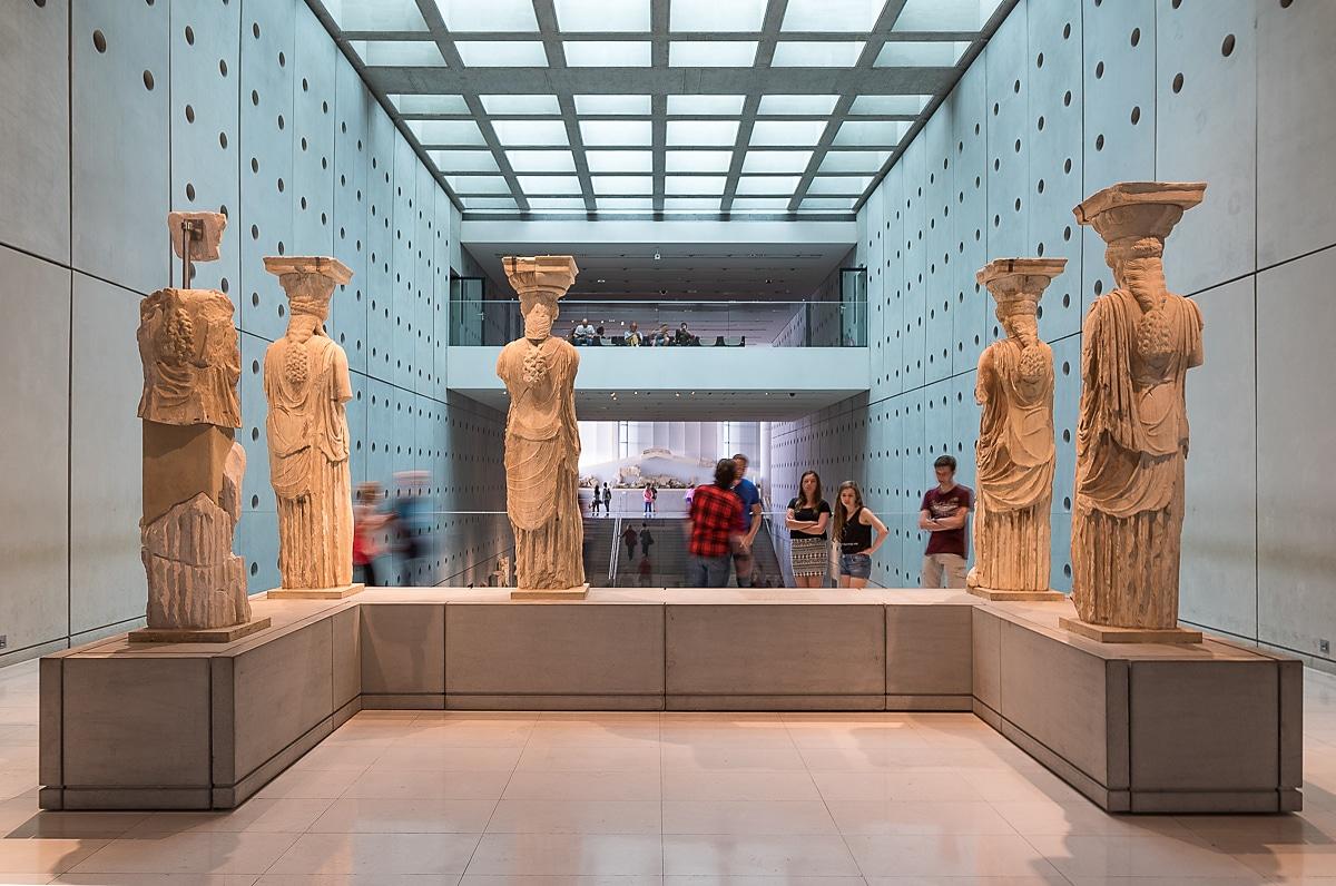 Acropolis Museum Caryatids gallery