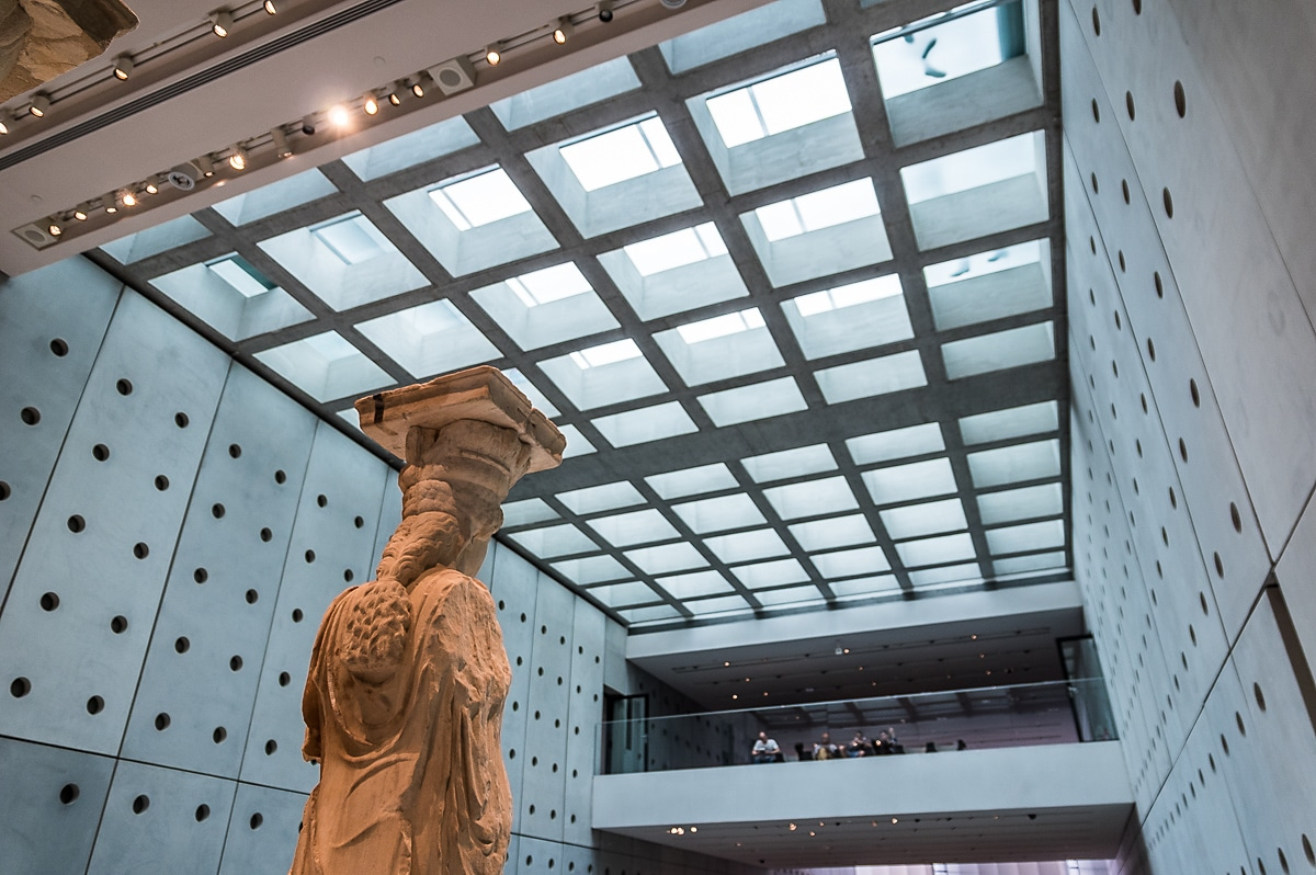 Acropolis Museum skylight