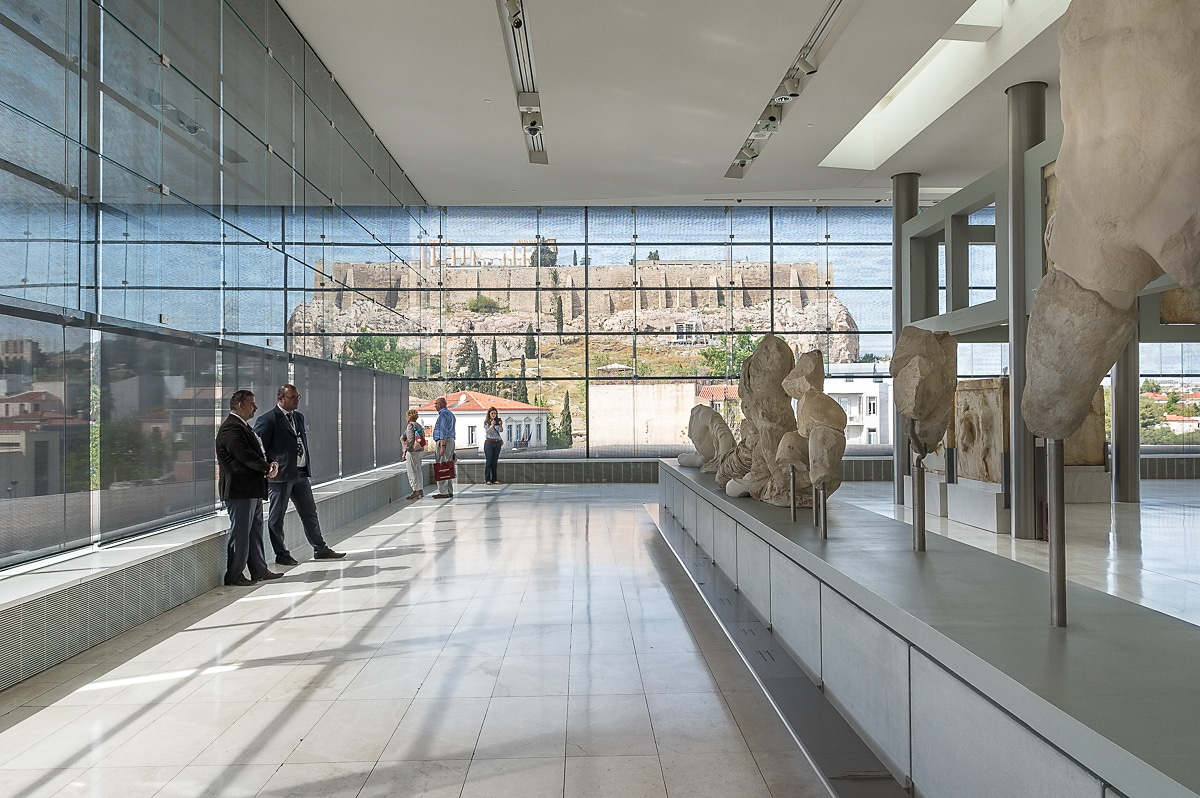 West Pediment with Acropolis in the backround