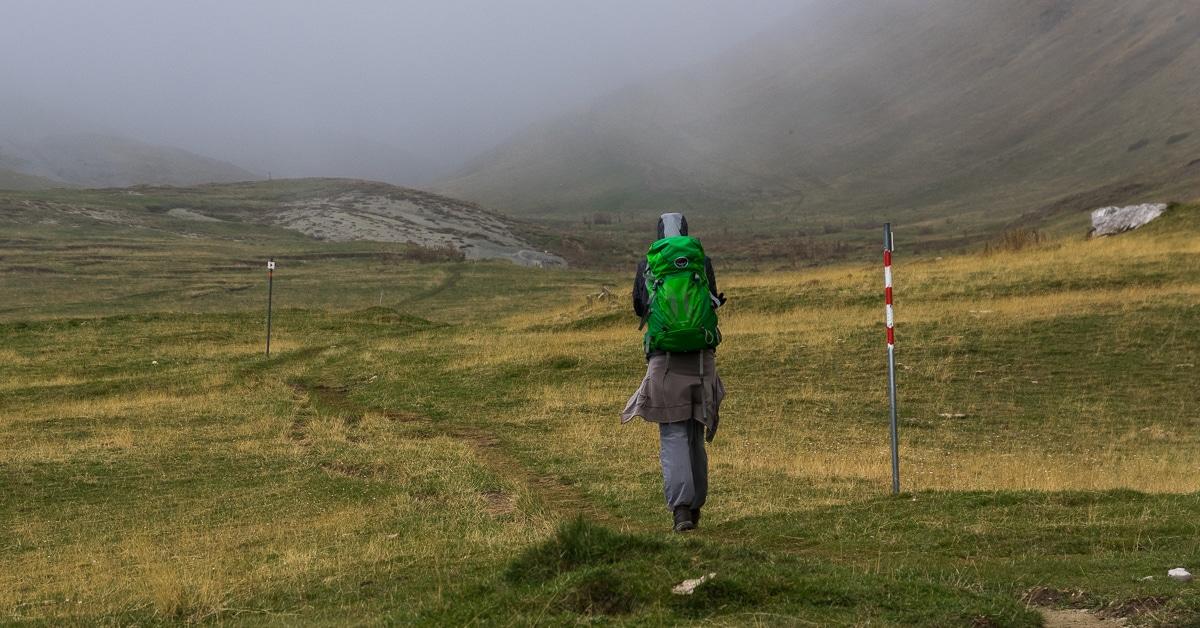 Mt. Tymfi : Hiking to Tsepelovo