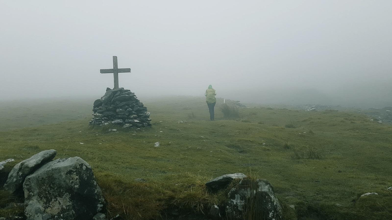 A failed attempt to climb Mt. Brandon Cross