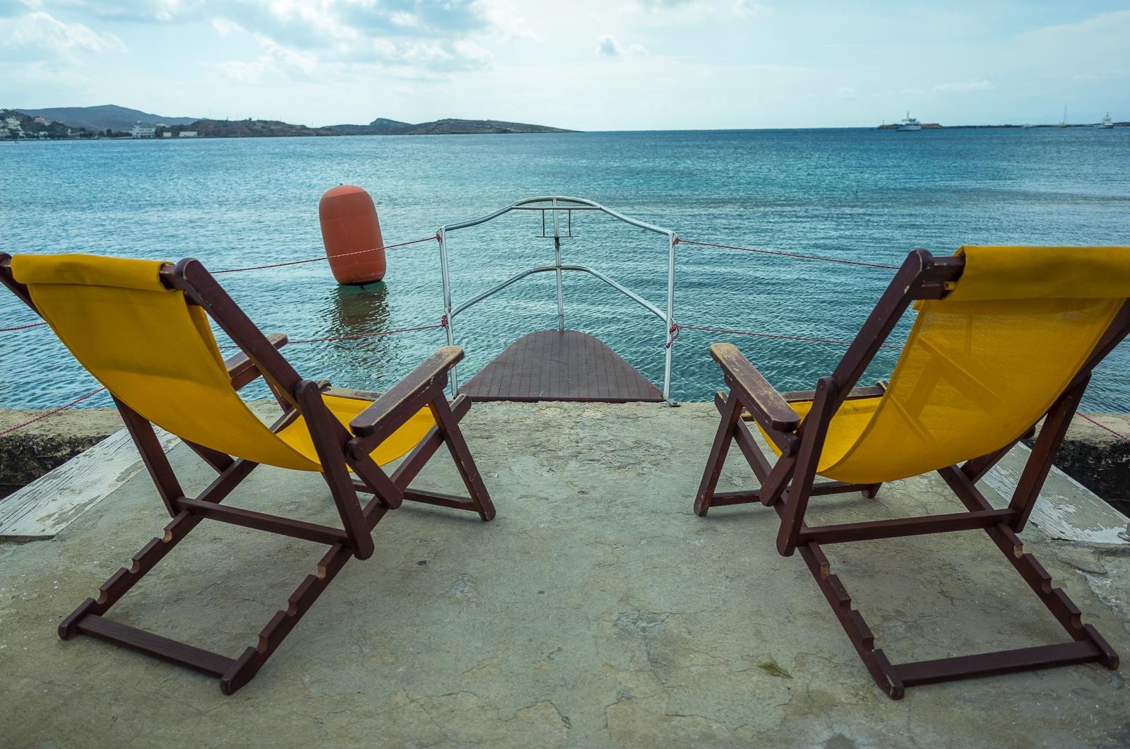 Syros : A Greek Island with Roman Influence beach life