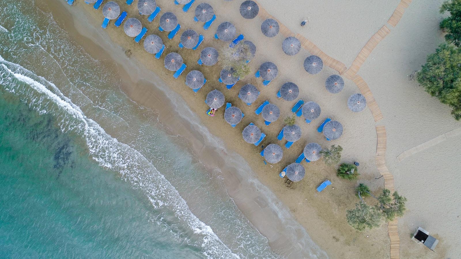 Syros : A Greek Island with Roman Influence Galissas beach