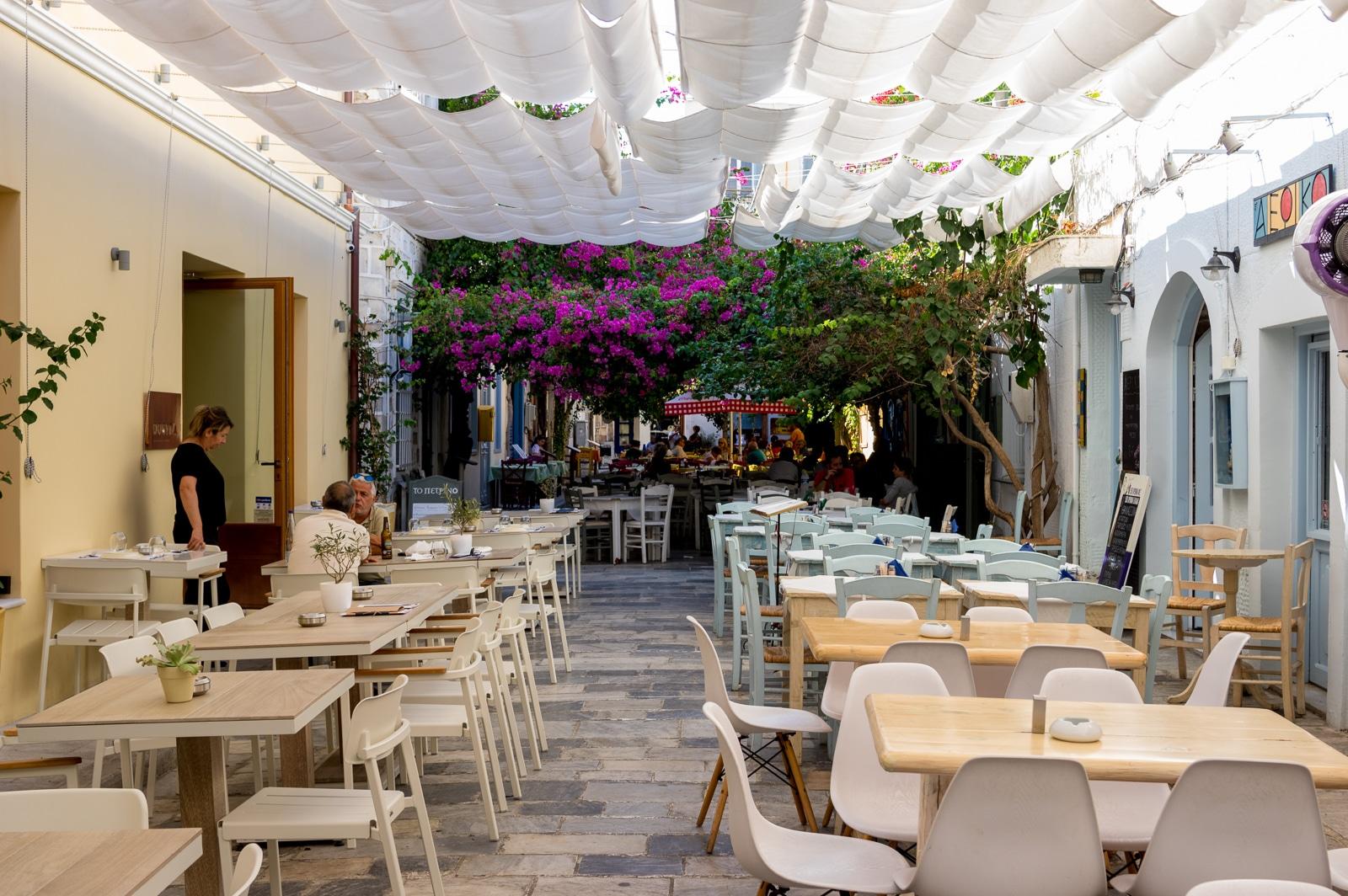 Syros : A Greek Island with Roman Influence Restaurants