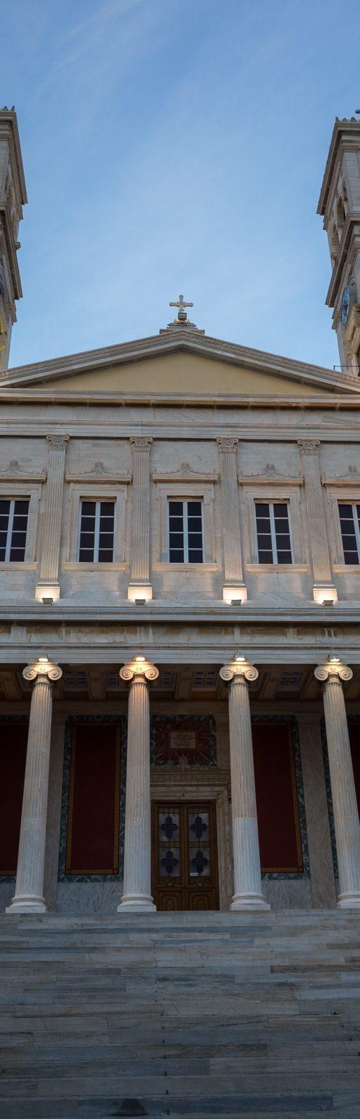 Syros St. Nicholaos Facade