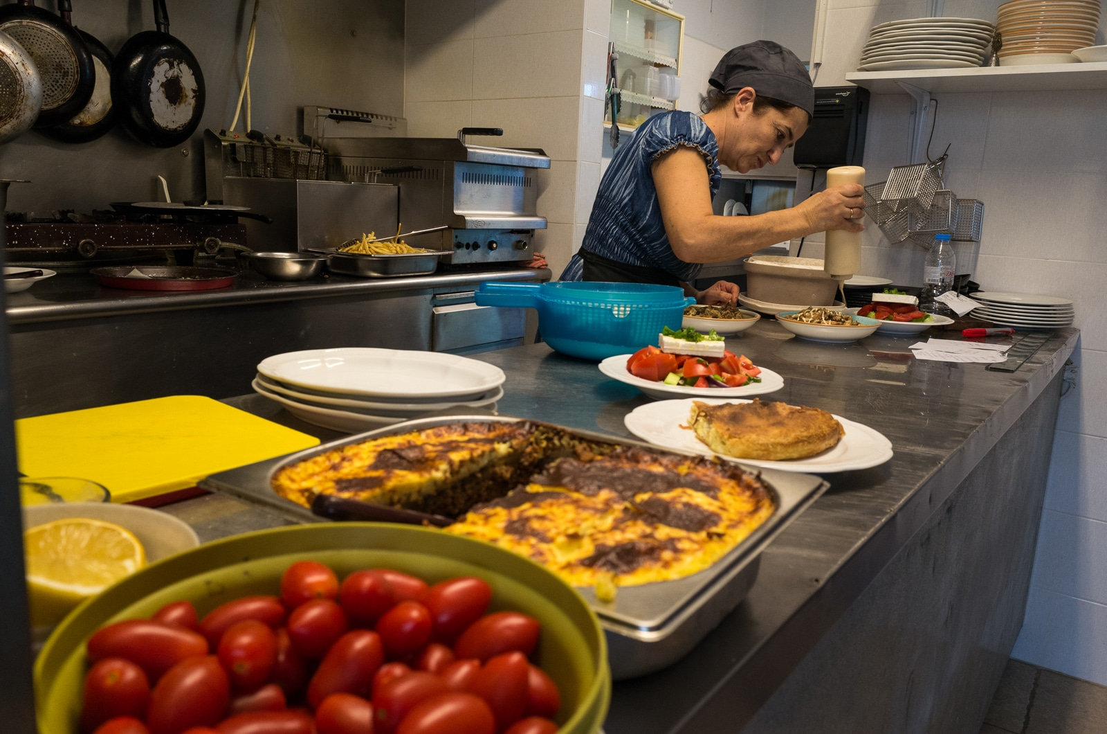 Syros : A Greek Island with Roman Influence aVentura restaurant