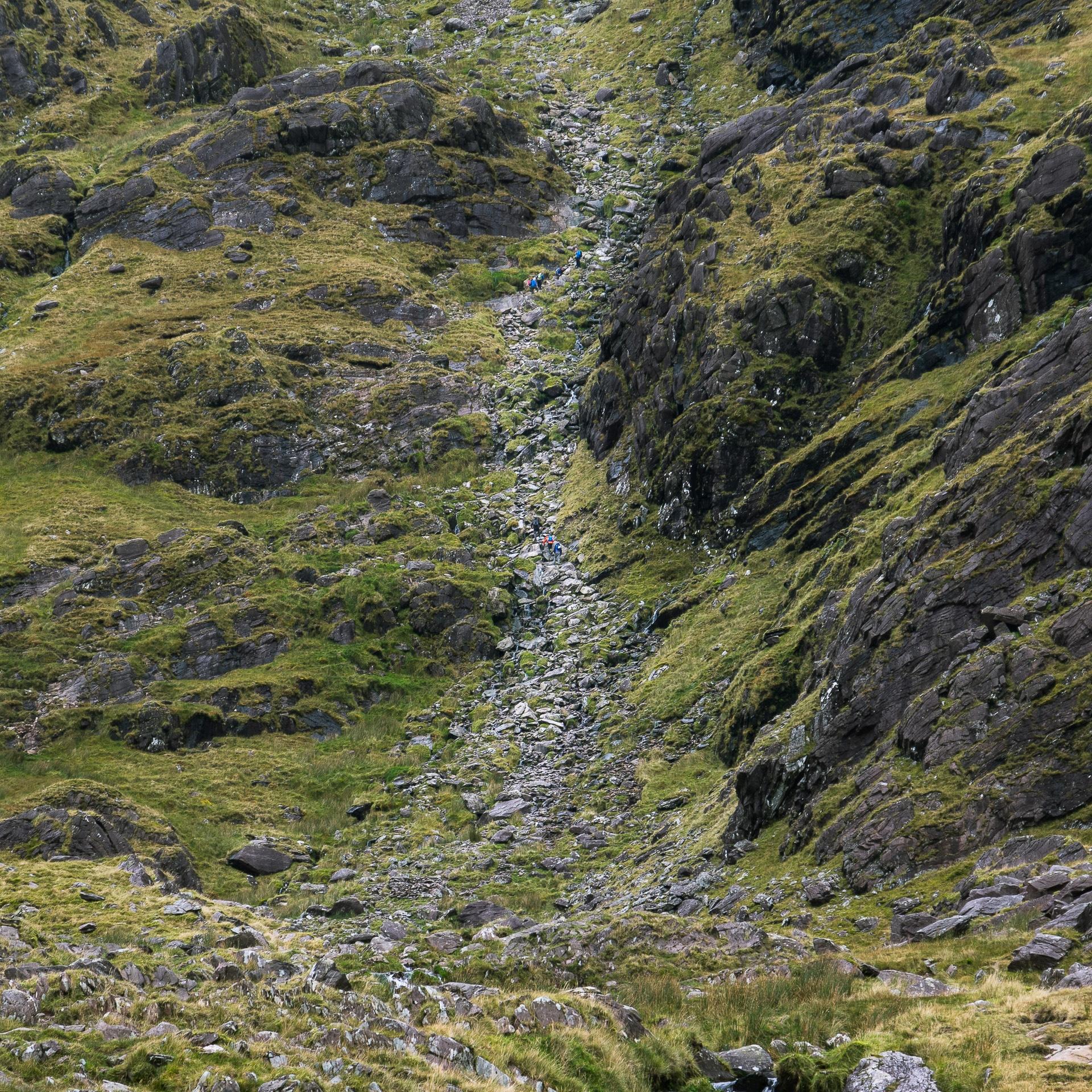 Carrauntoohil : Hiking to the top of Ireland