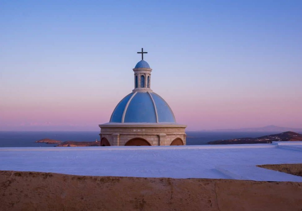 Syros : A Greek Island with Latin Influence Frontpage