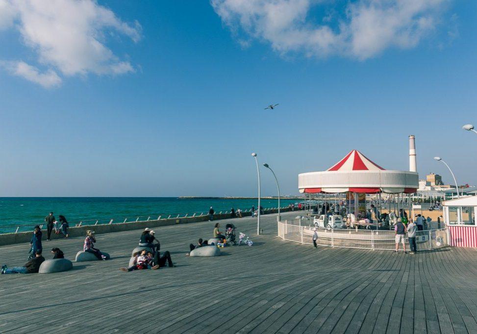 A Day in Tel Aviv : Hayarkon Park and the Promenade featrured